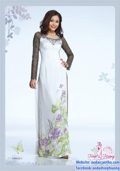 Mẫu áo dài đẹp mới nhất AD050